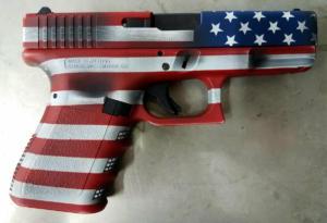 American flag glock