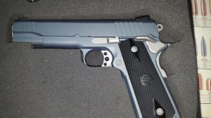 metalic blue 1911